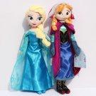 2 Styles 40CM ANNA ELSA Plush Toys New Princess Elsa plush Anna Plush Toy Doll