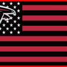 Atlanta Falcons Flag with Star and Stripes 3FTx5FT Patchwork Banner 100D