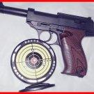 New Kid's Laser Target Practice Gun Plastic Toy Pistol Infrared Sensor Laser Gun