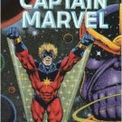 THE LIFE OF CAPTAIN MARVEL TPB-1990-1ST PRINTING-THANOS-FF-AVENGERS-DRAX NM