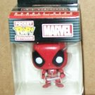 Funko pocket pop keychain Marvel comics Deadpool bobble head new in box