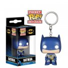 Funko pocket pop keychain DC comics Batman blue bobble head new in box