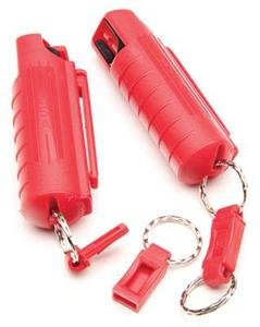 15% OC Pepper Spray in Plastic Holster  Red #PSK5M-18 NEW  LAW  ENFORCEMENT  FORMULA