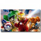 LEGO Superheroes Movie The Avengers Poster Print Iron Man 32x24