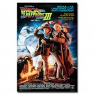 Back To The Future 2 Classic Movie Art Fabric Poster 32x24