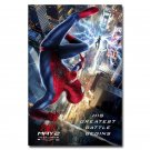 The Amazing Spider Man Movie Art Fabric Poster Print 32x24