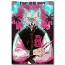 Hotline Miami Vintage Action Game Poster 32x24