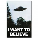 I Want To Believe The X Files Poster Print 32x24