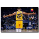Stephen Curry Super Basketball Star Poster Canvas Print 32x24