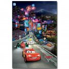 Cars Cartoon Movie Art Poster For Kids Room Decor 32x24