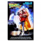 Back To The Future 2 Classic Movie Art Fabric Poster Print 32x24