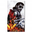 Metal Gear Solid V Game Art Poster Print Big Boss 32x24
