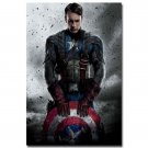 Captain America 2 The Winter Solider Fabric Poster 32x24