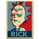 Rick And Morty Cartoon Anime Poster Print Vintage Style 32x24