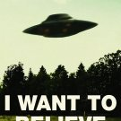 I Want To Believe Poster 32x24