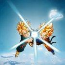 Dragon Ball Trunks Son Goten Print POSTER 32x24