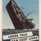 Wwii Cost Lives War Propoganda Poster Art Print 32x24