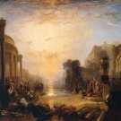 J M W Turner Decline Of Carthaginian Empire Fine Art Print 32x24
