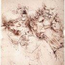Leonardo Da Vinci Fine Art Poster Print 32x24