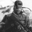 Metal Gear Solid Snake The Phantom Pain Spun Wall Print POSTER Decor 32x24