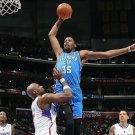 Kevin Durant VS Lebron James Basketball Star Wall Print POSTER Decor 32x24