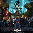 One Piece Avengers Anime Wall Print POSTER Decor 32x24