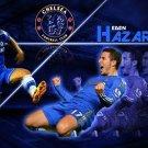 Eden Hazard Football Soccer Star Wall Print POSTER Decor 32x24