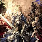 Fate Zero Anime Wall Print POSTER Decor 32x24