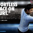 Roger Federer Tennis Players Wall Print POSTER Decor 32x24