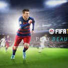 Lionel Messi FCB Football Star Soccer Wall Print POSTER Decor 32x24