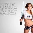 Star Wars Girl Lightsaber Wall Print POSTER Decor 32x24
