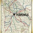The Walking Dead Terminus Map Wall Print POSTER Decor 32x24
