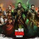 The Big Bang Theory TV Show Wall Print POSTER Decor 32x24