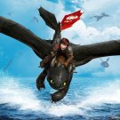 How To Train Your Dragon 1 2 Movie Wall Print POSTER Decor 32x24