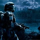 Halo 1 2 3 4 Game Wall Print POSTER Decor 3 32x24