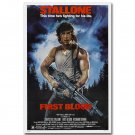 The First Blood Classic Movie Poster Sylvester Stallone 32x24