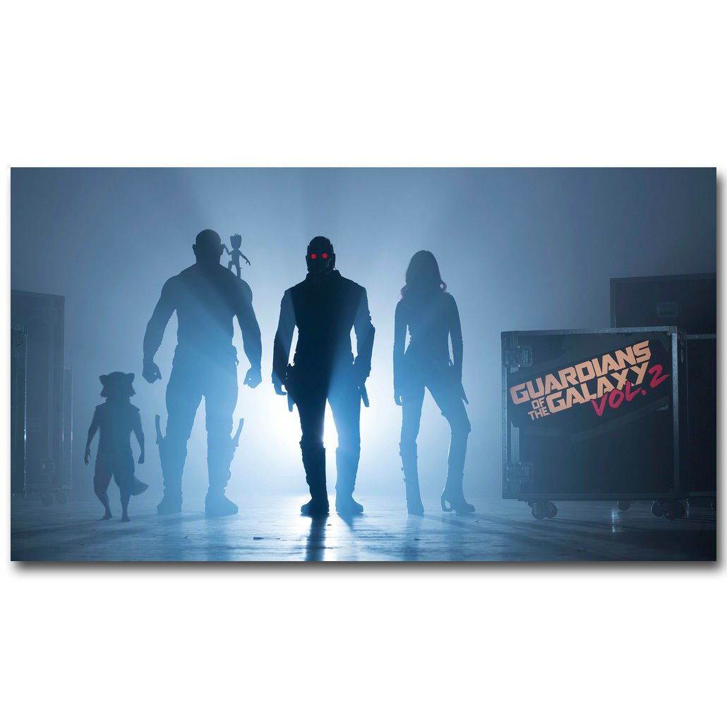 Guardians Of The Galaxy Marvel Superheroes Movie Poster 32x24