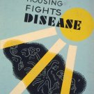 Planned Housing Fights Disease Wpa Poster Art Print 32x24
