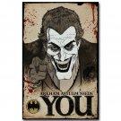 Joker Want You Batman Comic Funny Poster 32x24