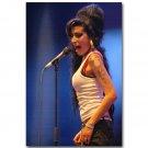 Amy Winehouse Music Singer Star Art Poster 32x24