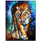 Tiger Africa Wild Animals Art Poster Print 32x24