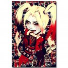 Harley Quinn Suicide Squad Superheroes Movie Poster Trippy 32x24