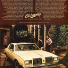 Vintage Oldsmobile Cutlass Calais Car Ad Art Print 32x24