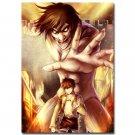 Attack On Titan 2 Eren Jaeger Hot Anime Art Poster 32x24