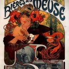 Alphonse Mucha Vintage Poster Print 32x24