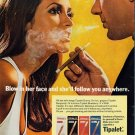 Vintage Tipalet Blow Cigarette Smoking Ad Art Print 32x24
