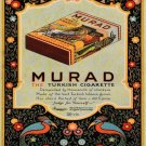 Vintage Murad Turkish Cigarette Smoking Ad Art Print 32x24
