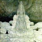 Edmund Dulac Snow Queen Fine Art Print 32x24
