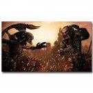 Alien Vs Predator Movie Poster Art Print 32x24