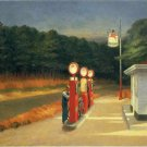 Edward Hopper Gas Fine Art Print 32x24